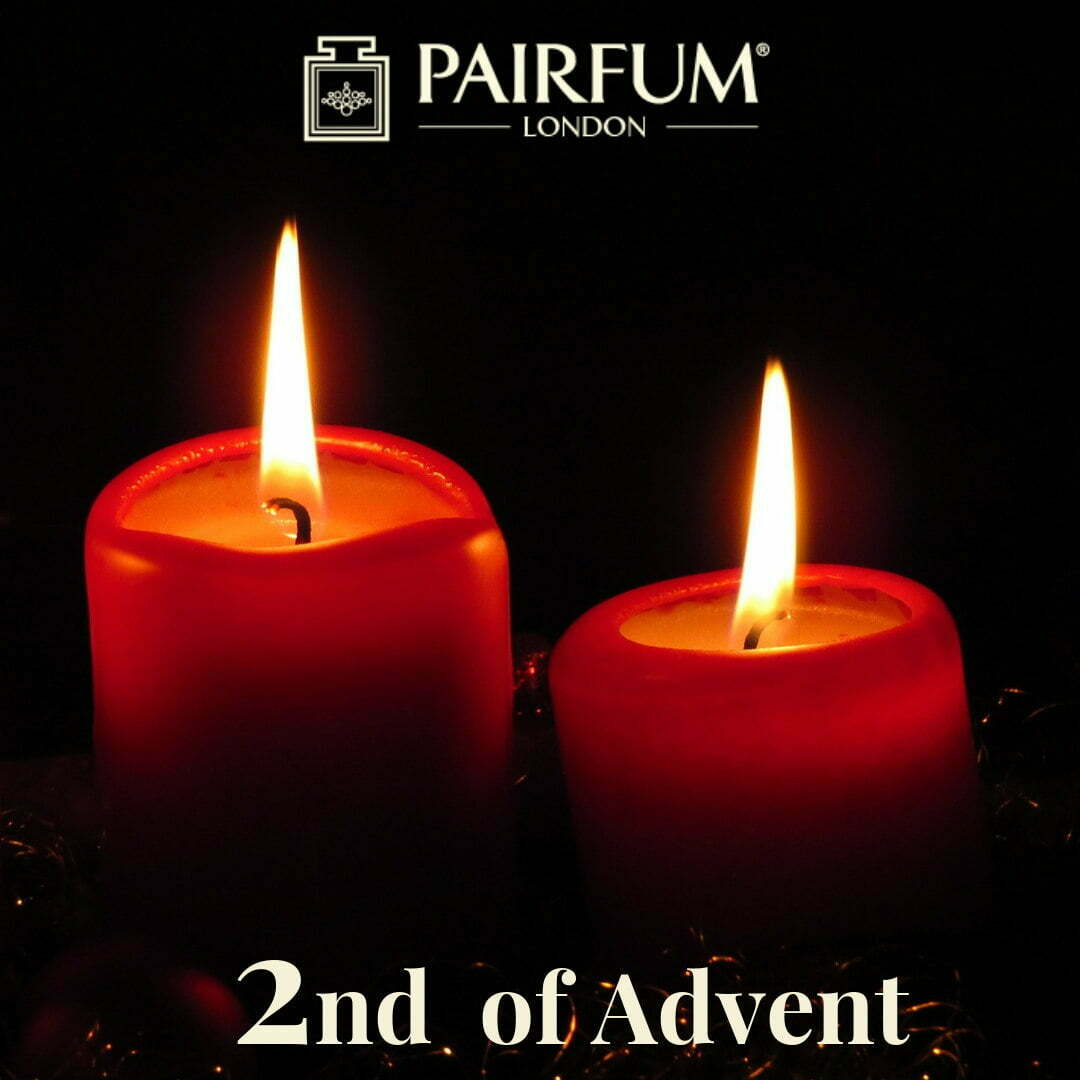 Perfume Christmas 2nd of Advent Calendar Candle