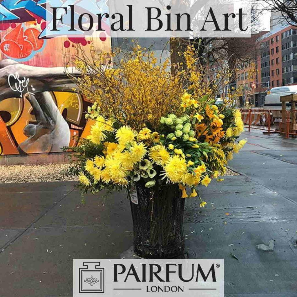 Lewis Miller Nyc Floral Bin Freshener Art Perfume