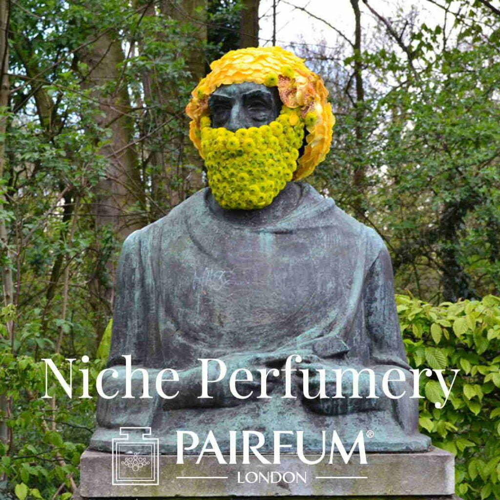 Pairfum London Niche Perfumery Flower Head Rousseau