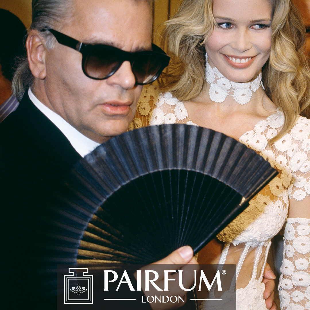Pairfum Karl Lagerfeld Claudia Schiffer Muse Fan