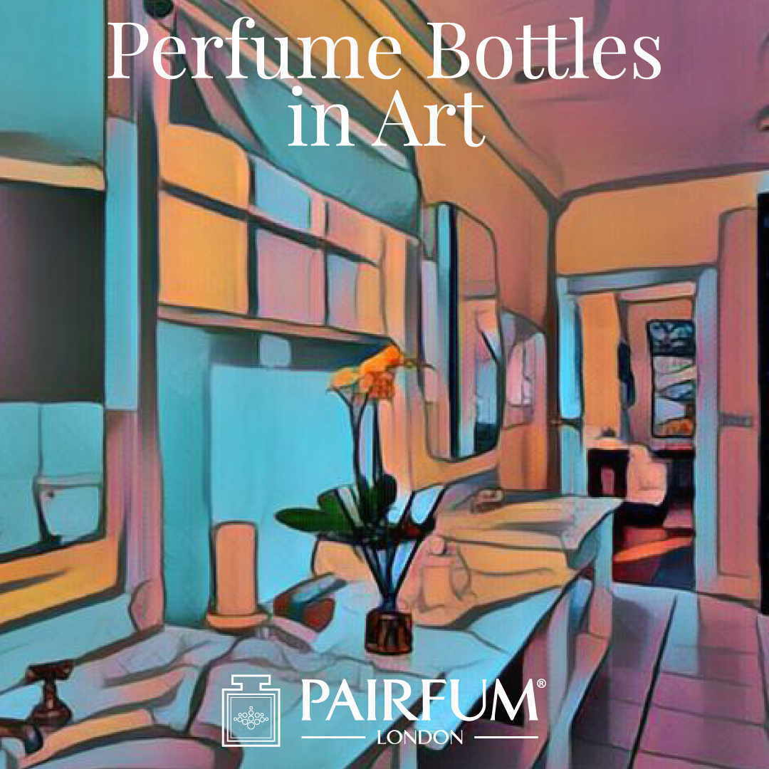 Pairfum London Perfume Bottles In Art Bathroom
