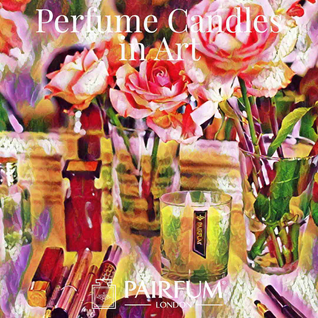Pairfum London Perfume Candles In Art Boudoire