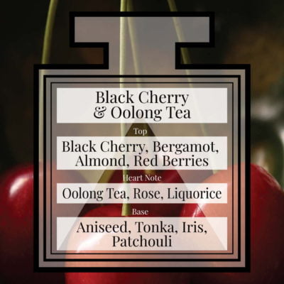 Pairfum Fragrance Black Cherry Oolong Tea Triangle