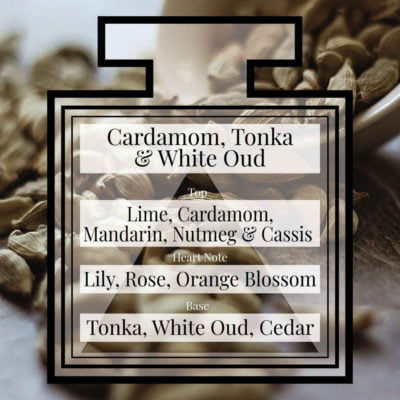 Pairfum Fragrance Cardamom Tonka White Oud Triangle