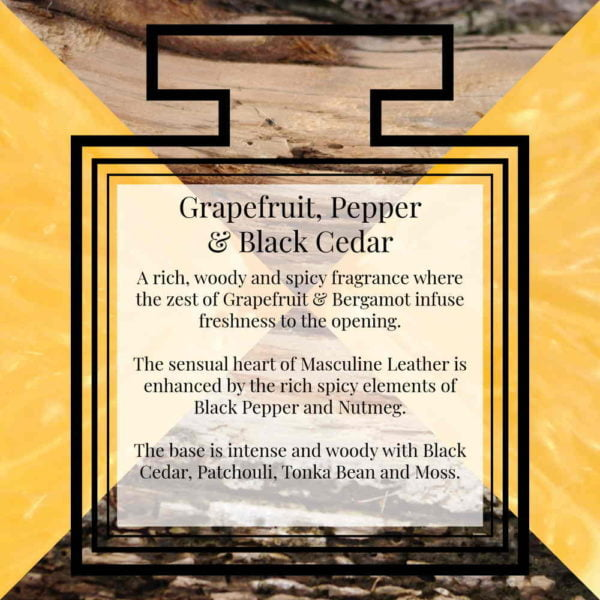 Pairfum Fragrance Grapefruit Pepper Black Cedar Description