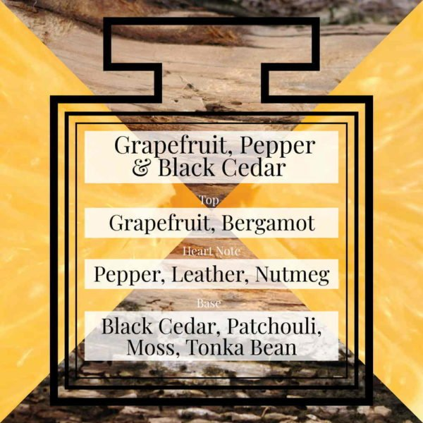 Pairfum Fragrance Grapefruit Pepper Black Cedar Triangle