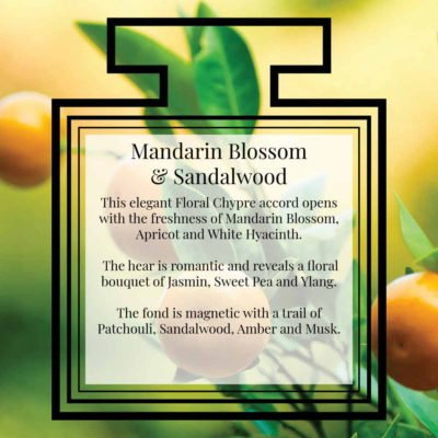 Pairfum Fragrance Mandarin Blossom Sandalwood Description