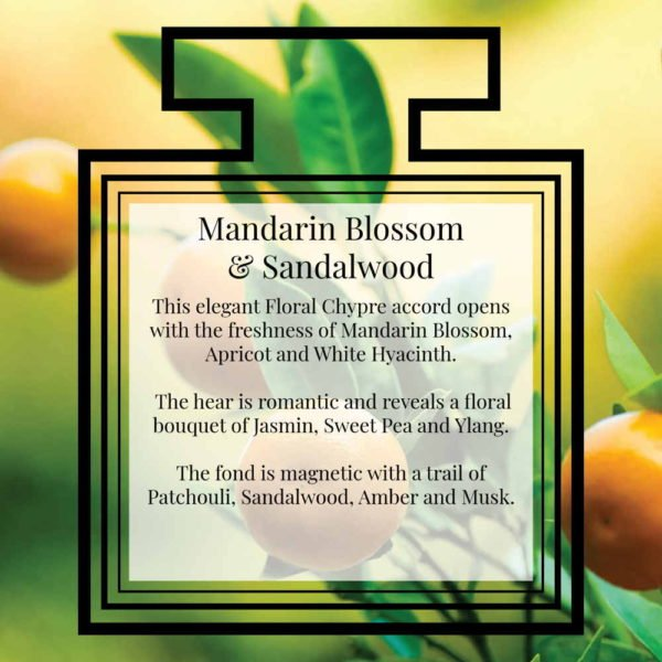 Pairfum Fragrance Mandarin Blossom Sandalwood Description