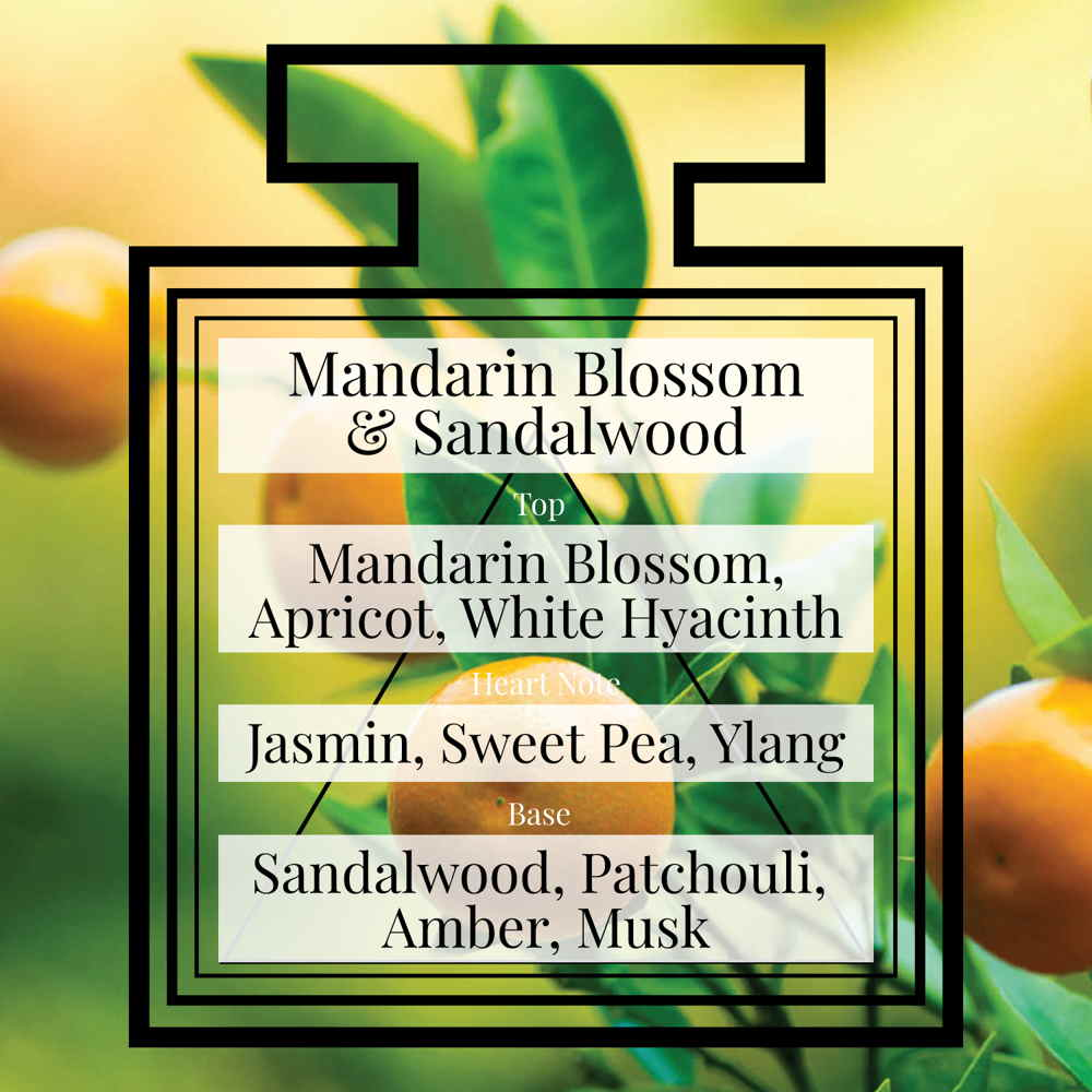 Pairfum Fragrance Mandarin Blossom Sandalwood Triangle
