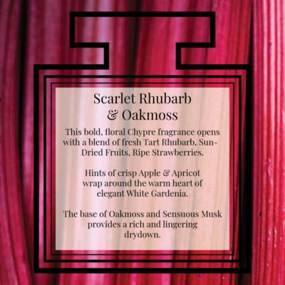 Pairfum Fragrance Scarlet Rhubarb Oakmoss Description