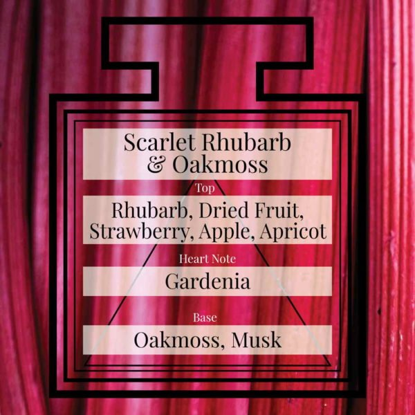 Pairfum Fragrance Scarlet Rhubarb Oakmoss Triangle