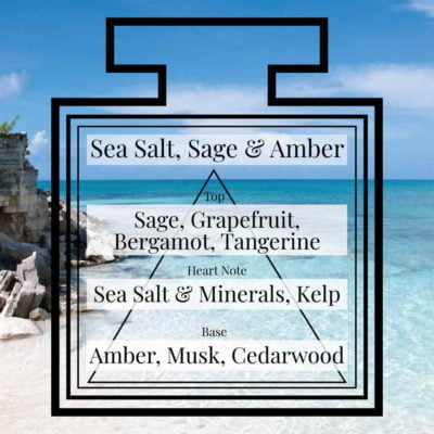 Pairfum Fragrance Sea Salt Sage Amber Triangle