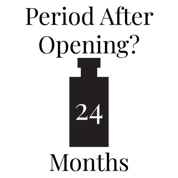 Pairfum Infographic PAO Period After Opening 36 Months Eau De Parfum