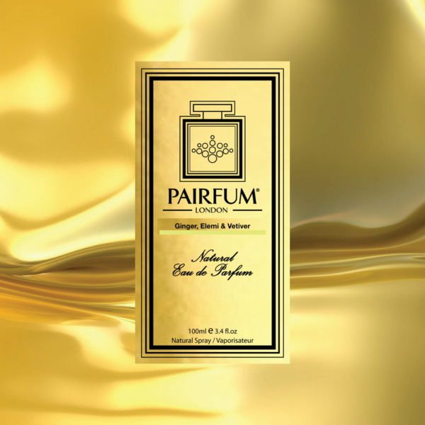 Pairfum Eau De Parfum Intense Ginger Elemi Vetiver Carton Liquid Gold
