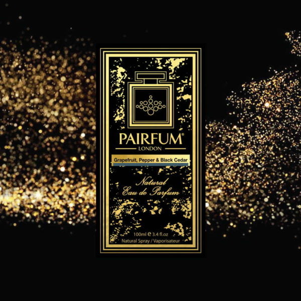 Pairfum Eau De Parfum Intense Grapefruit Pepper Black Cedar Carton Stardust