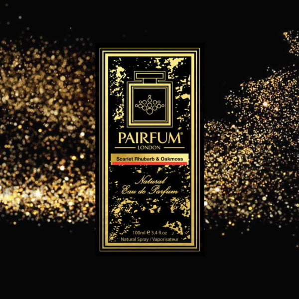Pairfum Eau De Parfum Intense Scarlet Rhubarb Oakmoss Carton Stardust
