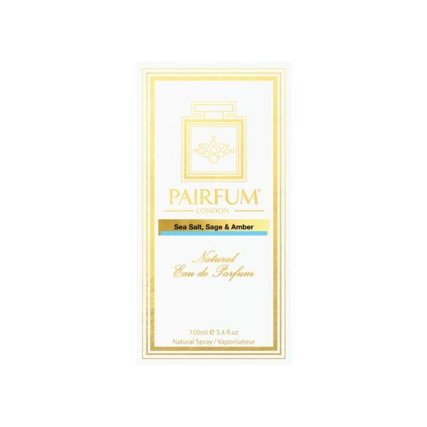 Pairfum Eau De Parfum Intense Sea Salt Sage Amber Carton