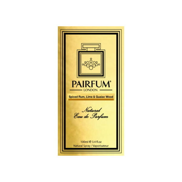 Pairfum Eau De Parfum Intense Spiced Rum Lime Guaiac Wood Carton