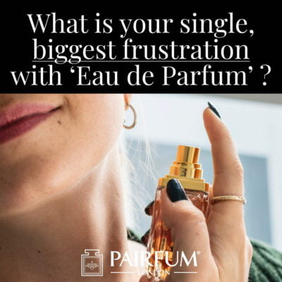 Eau De Parfum Biggest Single Frustration Woman Apply
