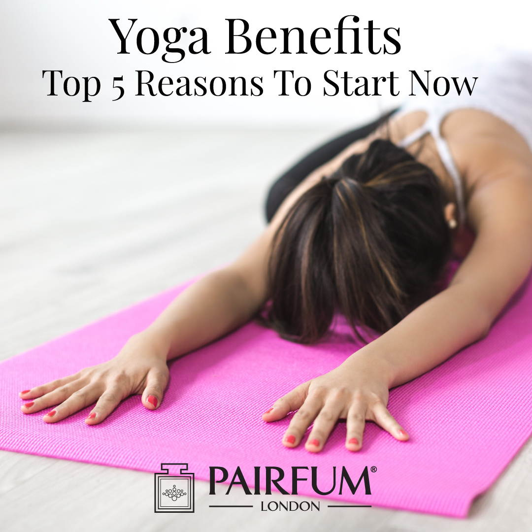 Yoga Benefits Mat Woman Pose Stress Anxiety