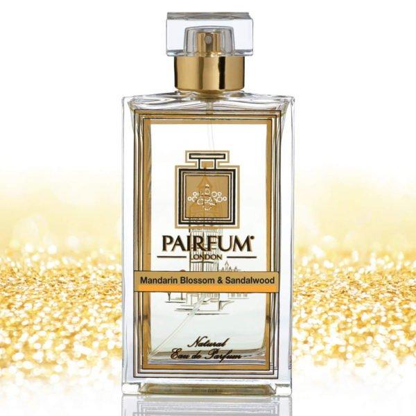 Eau De Parfum Bottle Mandarin Blossom Sandalwood Pure