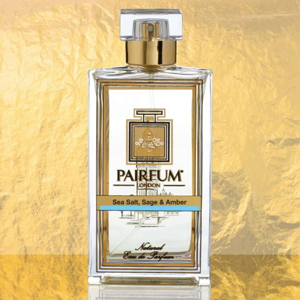 Eau De Parfum Bottle Sea Salt Sage Amber Pure Foil