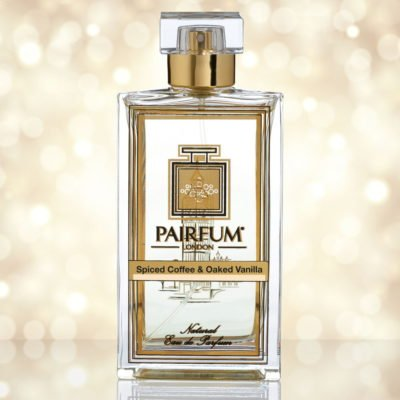 Eau De Parfum Bottle Spiced Coffee Oaked Vanilla Pure