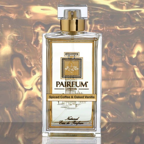 Eau De Parfum Bottle Spiced Coffee Oaked Vanilla Pure Liquid