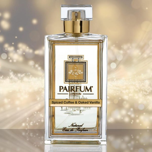 Eau De Parfum Bottle Spiced Coffee Oaked Vanilla Pure Sparkle