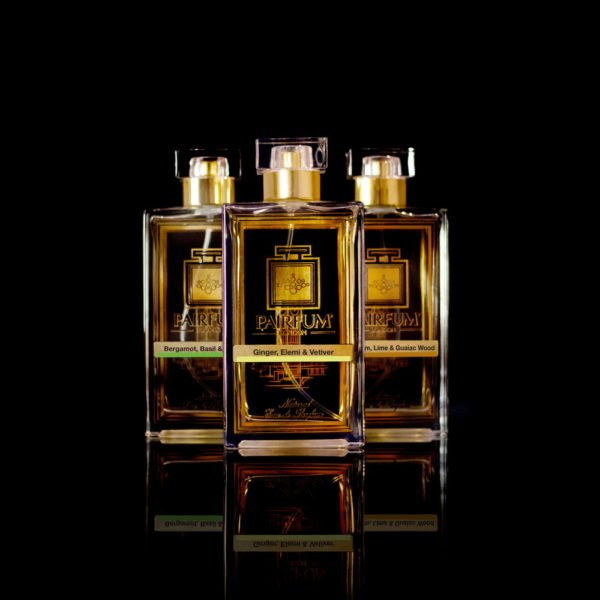 Eau De Parfum Gold Three Pairfum Ginger Elemi Vetiver