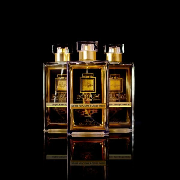 Eau De Parfum Gold Three Pairfum Spiced Rum Lime Guaiac Wood