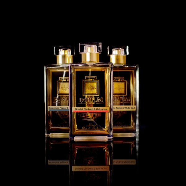 Eau De Parfum Noir Three Pairfum Scarlet Rhubarb Oakmoss