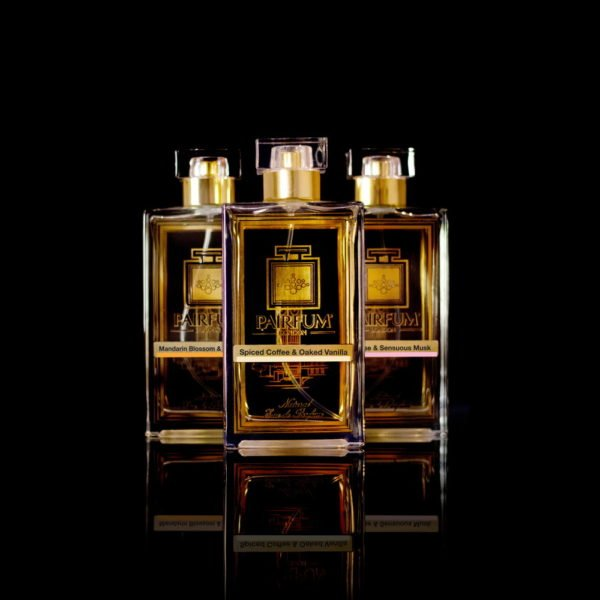 Eau De Parfum Pure Three Pairfum Spiced Coffee Oaked Vanilla