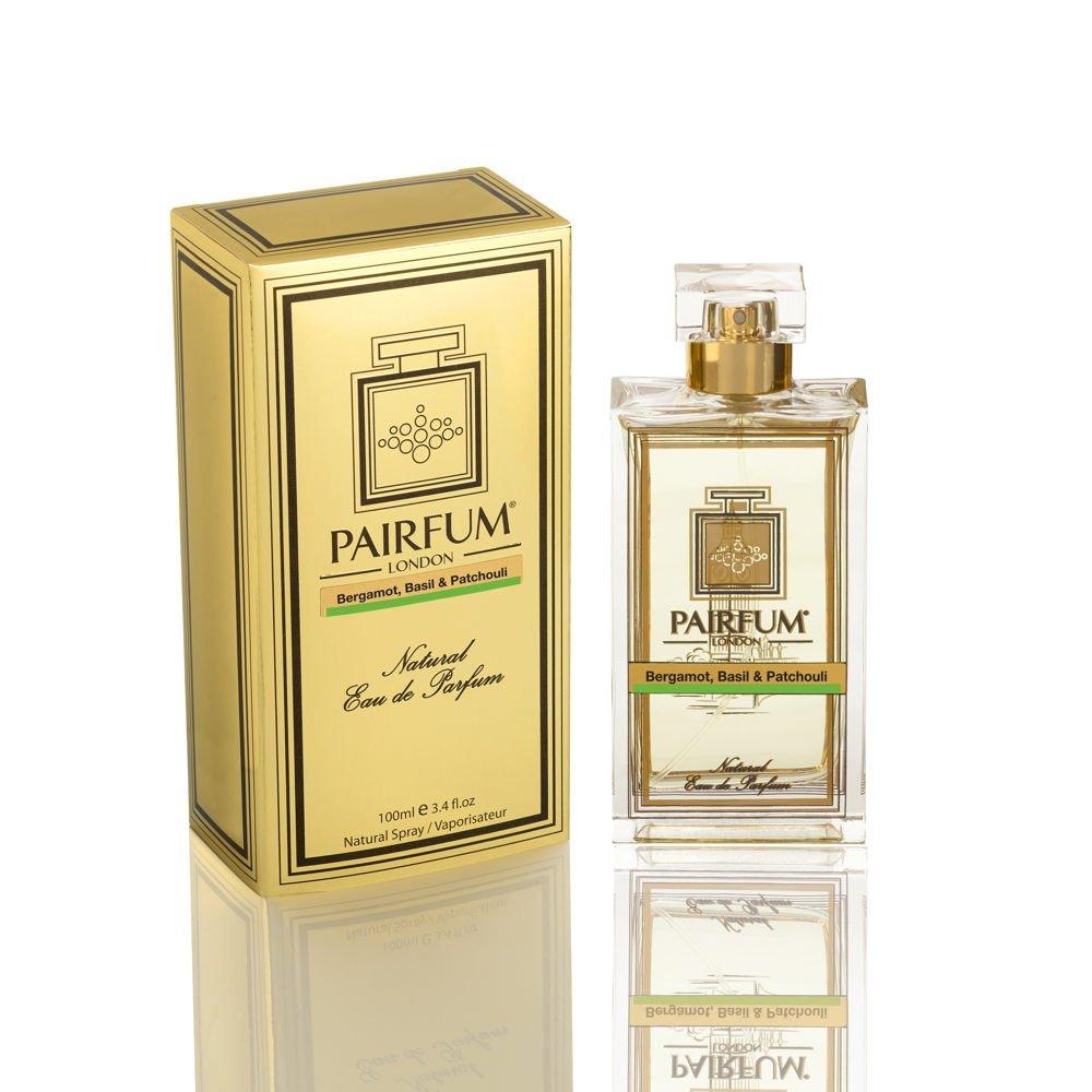 Pairfum Eau De Parfum Gold Bottle Carton Bergamot Basil Patchouli
