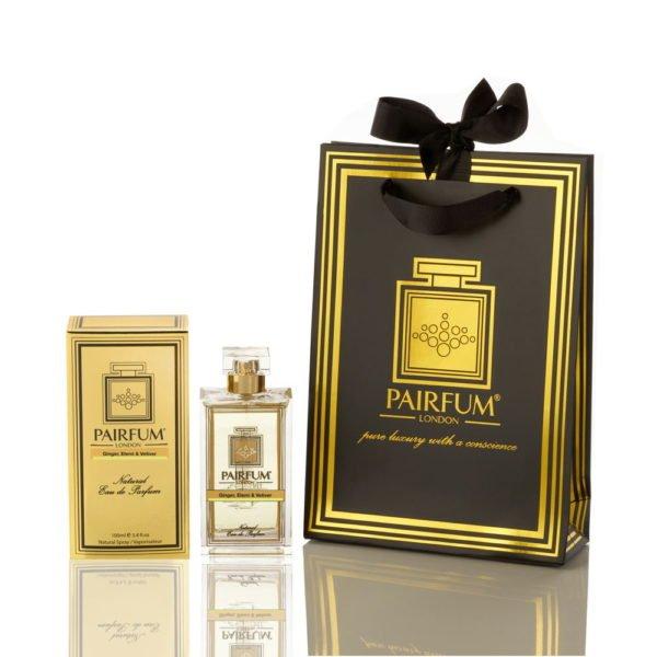 Pairfum Eau De Parfum Gold Giftbag Ginger Elemi Vetiver
