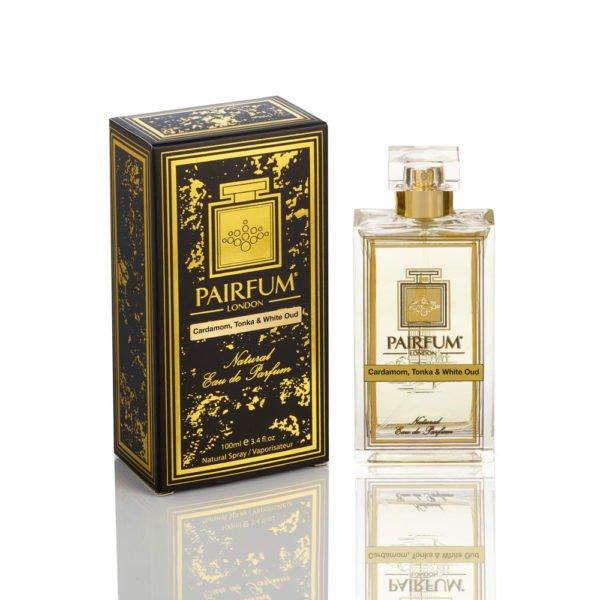 Pairfum Eau De Parfum Noir Bottle Carton Cardamom Tonka White Oud