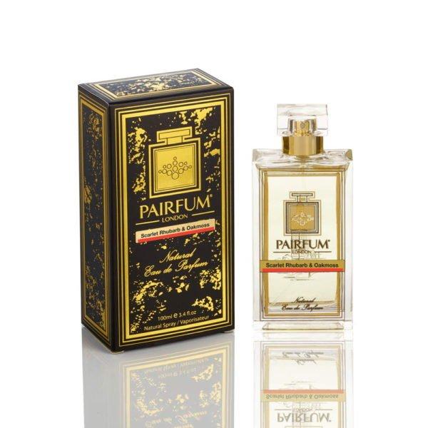 Pairfum Eau De Parfum Noir Bottle Carton Scarlet Rhubarb Oakmoss