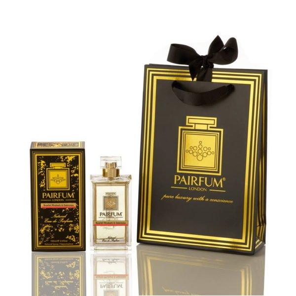 Pairfum Eau De Parfum Noir Giftbag Scarlet Rhubarb Oakmoss