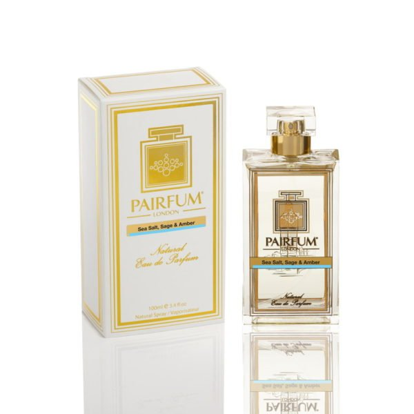Pairfum Eau De Parfum Pure Bottle Carton Sea Salt Saga Amber