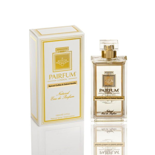 Pairfum Eau De Parfum Pure Bottle Carton Spiced Coffee Oaked Vanilla