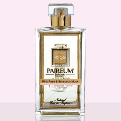 Pure Eau De Parfum Bottle Pink Rose Sensuous Musk