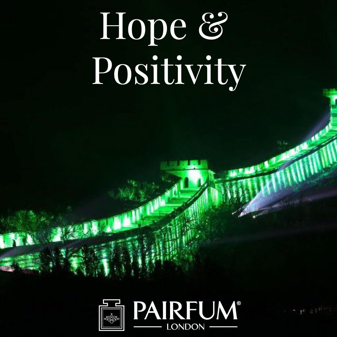 Hope Positivity Ireland St Patricks Day Famous Buildings Green