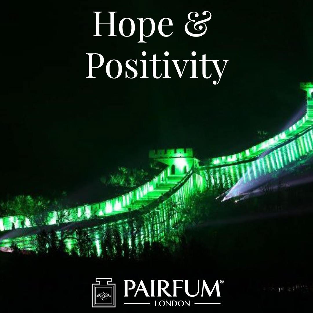 Hope Positivity Ireland St Patricks Day Famous Buildings Green