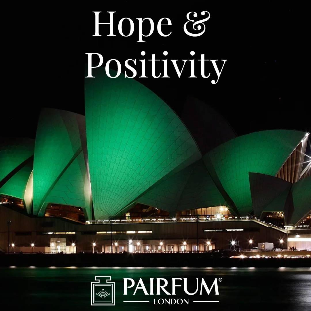 Ireland St Patricks Day Famous Buildings Green Positivity Hope