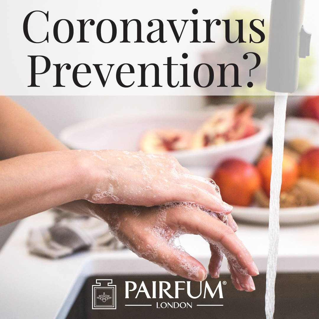 Pairfum London Coronavirus Prevention Hands Wash Bubbles Cleaning Rinse