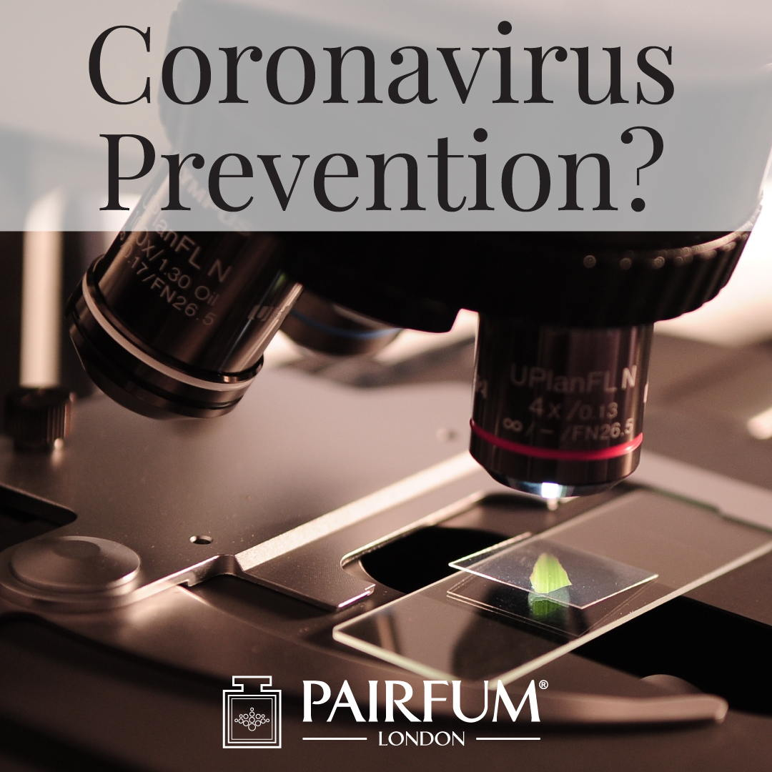 Pairfum London Coronavirus Prevention Microscope Research Antidote