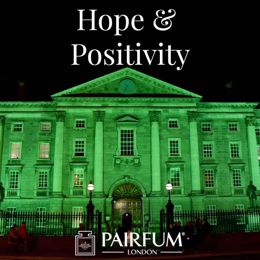 Positivity Hope Ireland St Patricks Day Famous Buildings Green