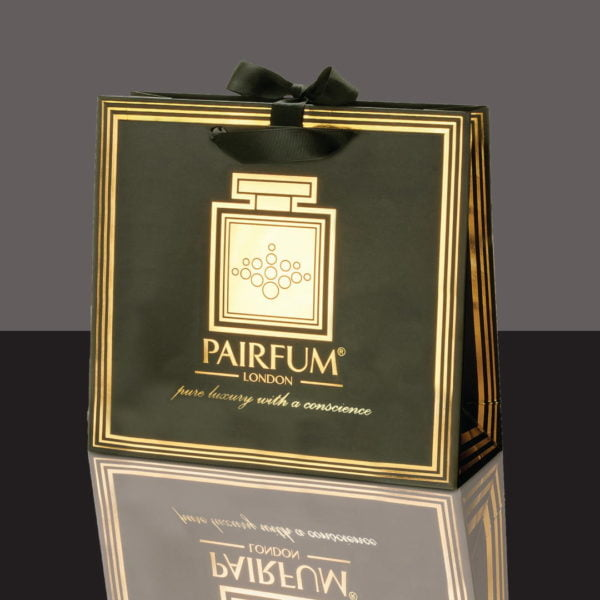 Pairfum Gold Black Luxury Carrier Bag Gift Classic Black