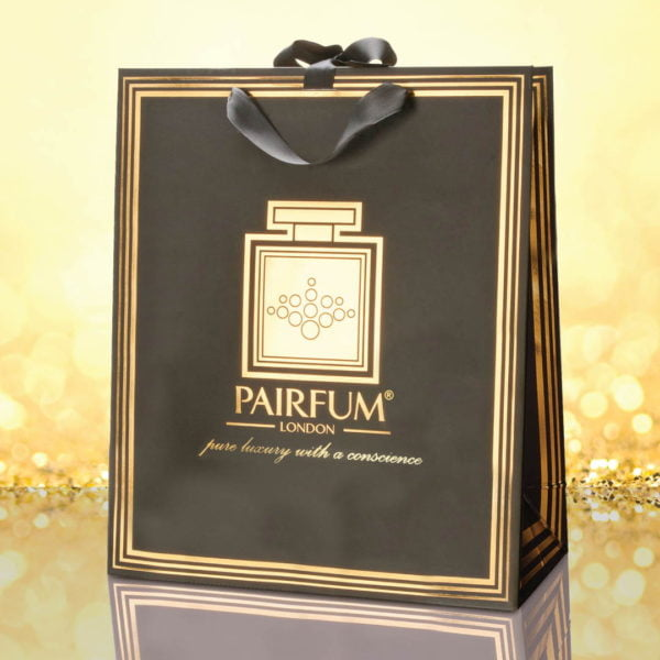 Pairfum Gold Black Luxury Carrier Bag Gift Large Granule