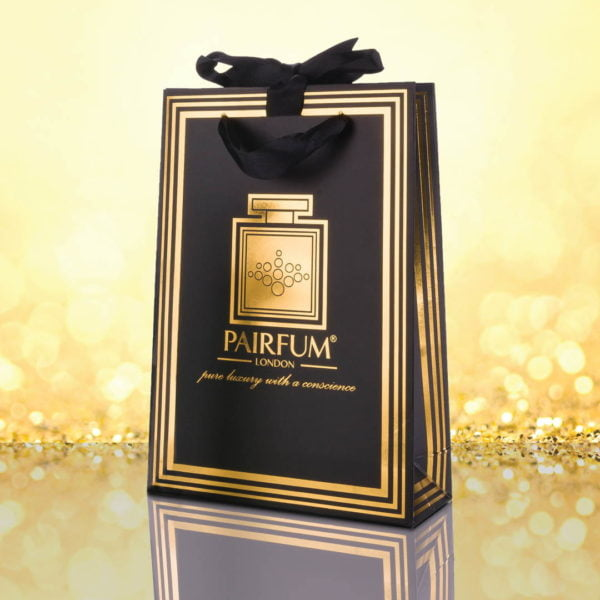 Pairfum Gold Black Luxury Carrier Bag Gift Small Granule